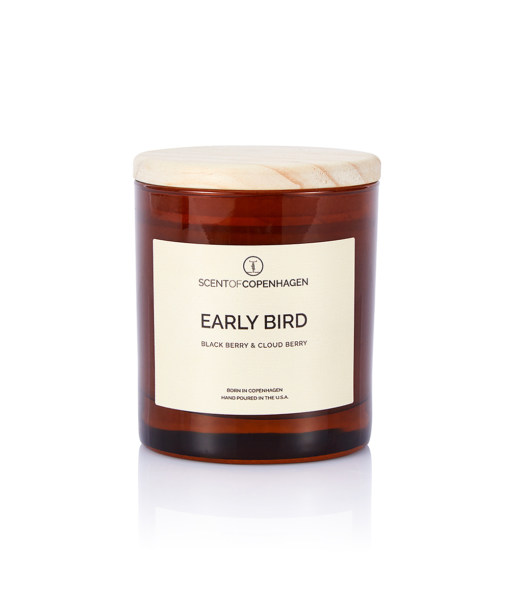 SCENT OF COPENHAGEN ART OF TIME CANDLE EARLY BIRD