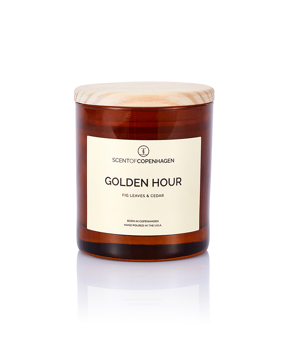 SCENT OF COPENHAGEN ART OF TIME CANDLE GOLDEN HOUR