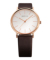 BERING Unisex Classic Calf Leather 13436-564 ホワイト×ローズゴールド×ブラウン