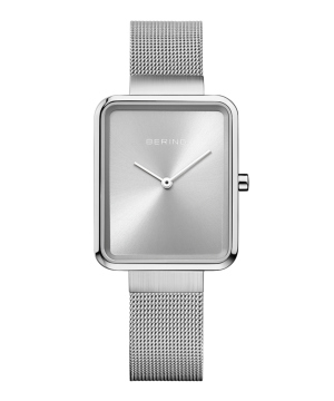 BERING Ladies Smart Square シルバー