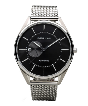BERING Mens Scandinavian Automatic ブラック×シルバー