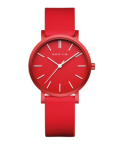 BERING Unisex True Aurora 34mm mat red 16934-599