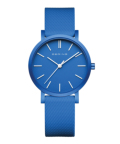 BERING Unisex True Aurora 34mm mat blue 16934-799