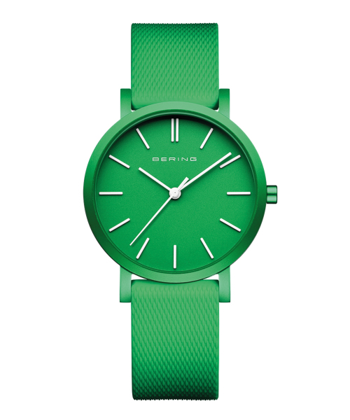 BERING Unisex True Aurora 34mm mat green 16934-899