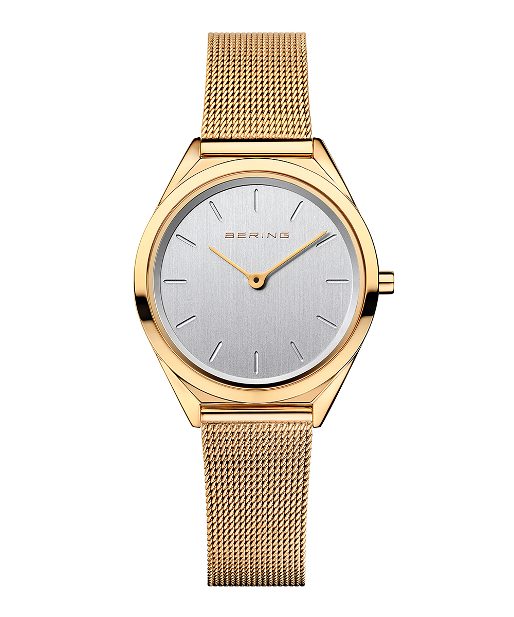 BERING Ladies Ultra Slim 17031-334 ゴールド