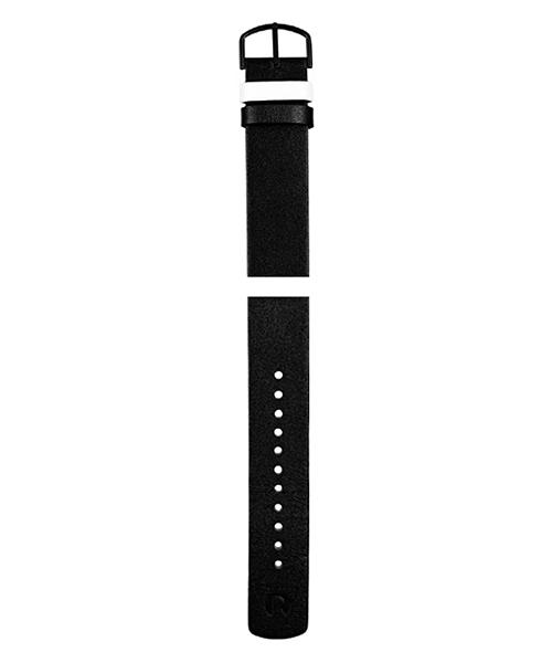 4120MB レザー ブラック×ホワイト