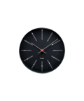 WALL CLOCK BANKERS BLACK 210mm ブラック×レッド