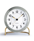 43674 Station Table Clock Gray