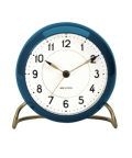 43678 Station Table Clock Blue