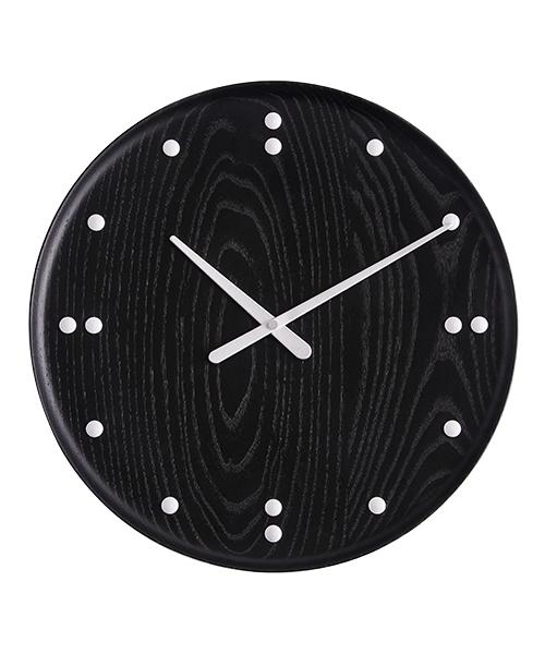 Finn Juhl Wall Clock 782 ブラック×シルバー