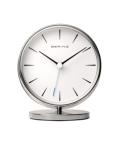 TABLE CLOCK 90096-04R ホワイト×シルバー
