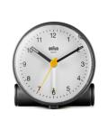 Classic Analog Alarm Clock BC01BW ブラック×ホワイト