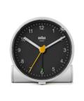 Classic Analog Alarm Clock BC01WB ホワイト×ブラック