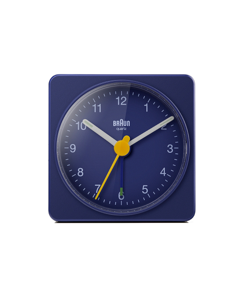 BRAUN Analog Alarm Clock BC02BL ブルー