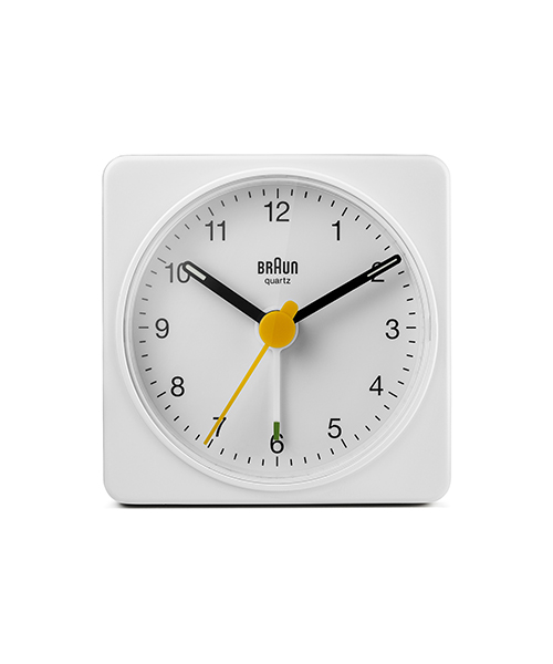 BRAUN Travel Analog Alarm Clock BC02W
