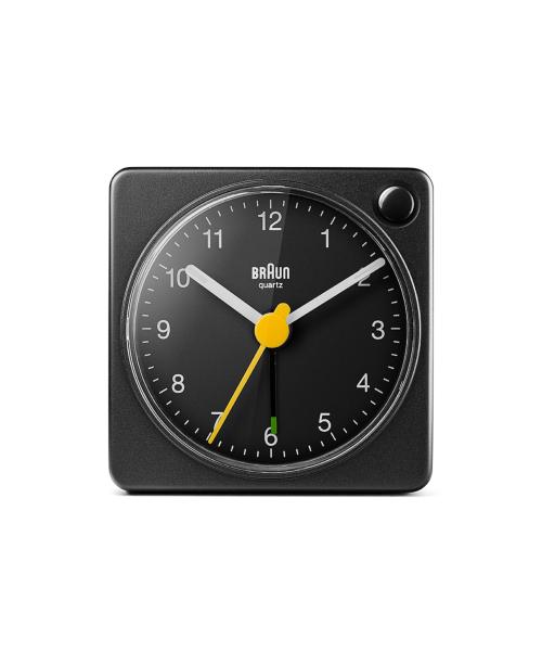 BRAUN Analog Alarm Clock BC02XB ブラック