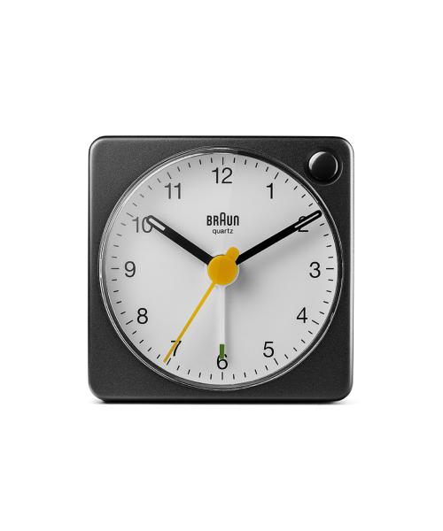 BRAUN Analog Alarm Clock BC02XBW ブラック×ホワイト