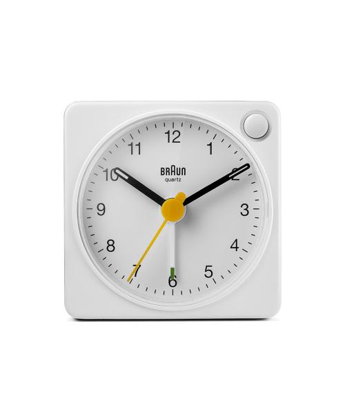 BRAUN Analog Alarm Clock BC02XW ホワイト