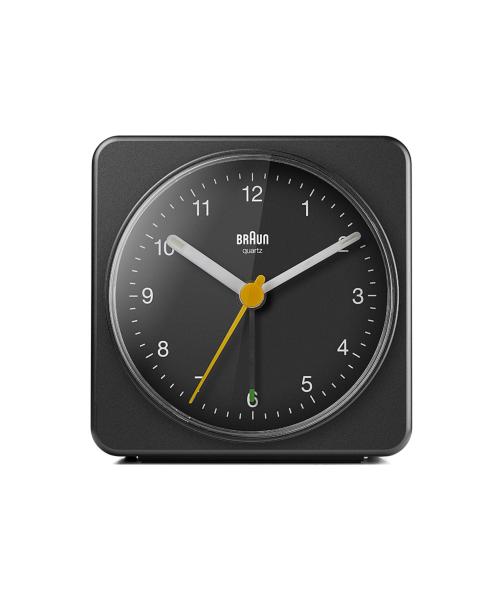 BRAUN Analog Alarm Clock BC03B ブラック
