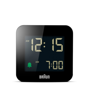 Digital Alarm Clock BC08B ブラック