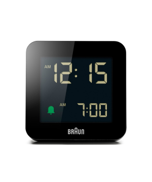 Digital Alarm Clock BC09B ブラック