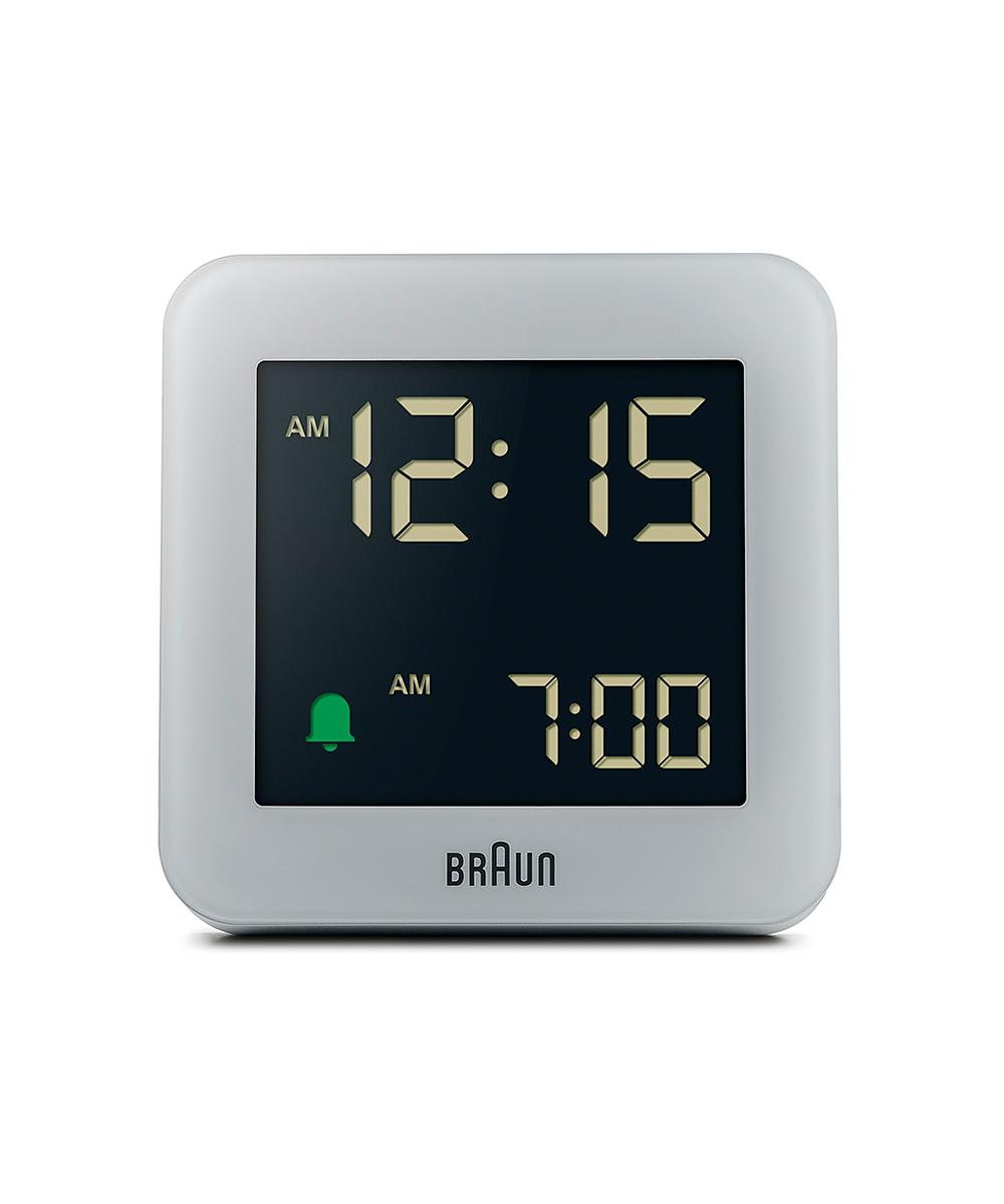 BRAUN 100th Anniversary Digital Alarm Clock グレー×ブラック