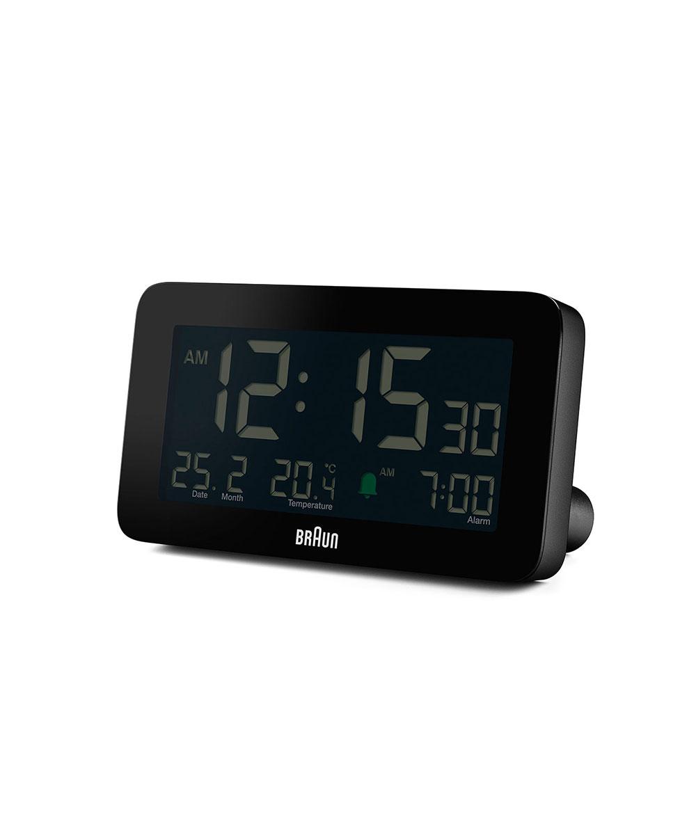 BRAUN Digital Alarm Clock ブラック