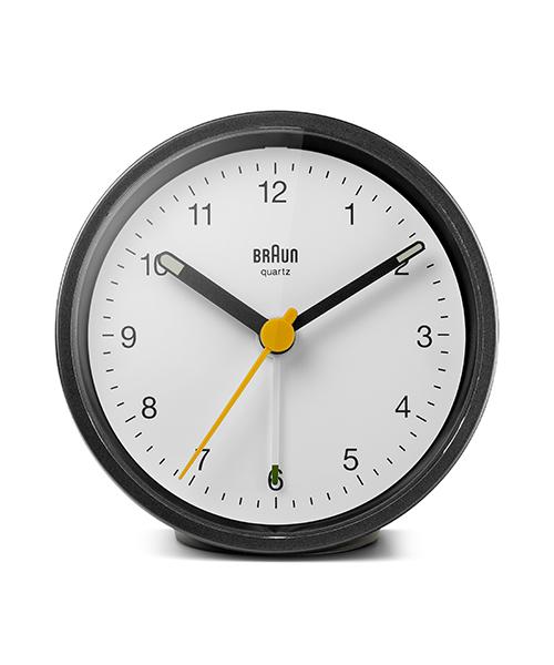 Classic Analog Alarm Clock BC12BW ブラック×ホワイト