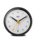 Classic Analog Alarm Clock BC12BW