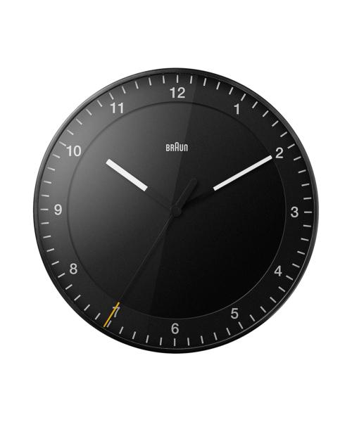 BRAUN Wall Clock BC17B ブラック
