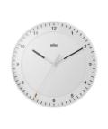 BRAUN Wall Clock BC17W ホワイト