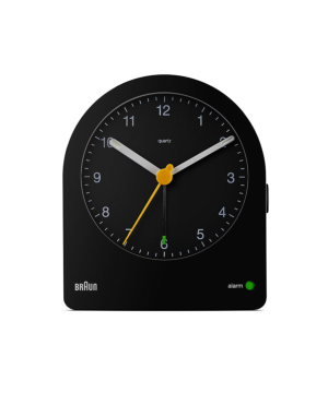 BRAUN Analog Alarm Clock ブラック