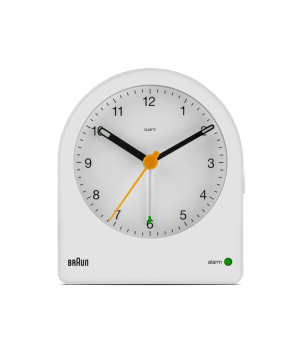 BRAUN Analog Alarm Clock ホワイト