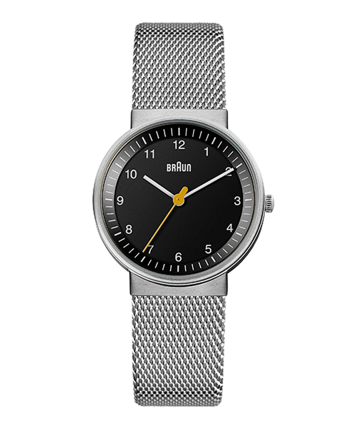 BRAUN Watch BN0031BKSLMHL ブラック×シルバー