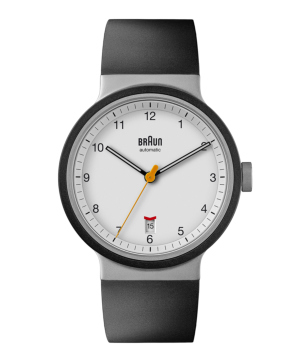BRAUN Automatic Watch ホワイト×ブラック