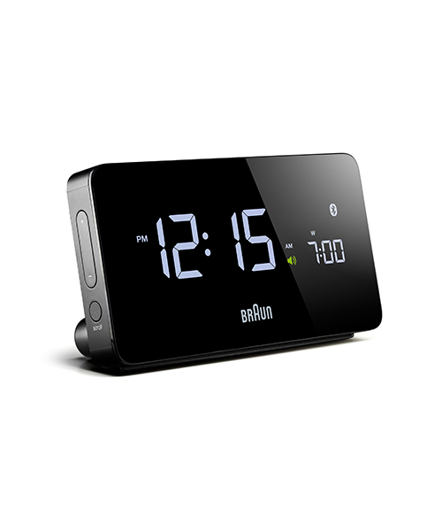 BRAUN Digital Clock BNC020BK