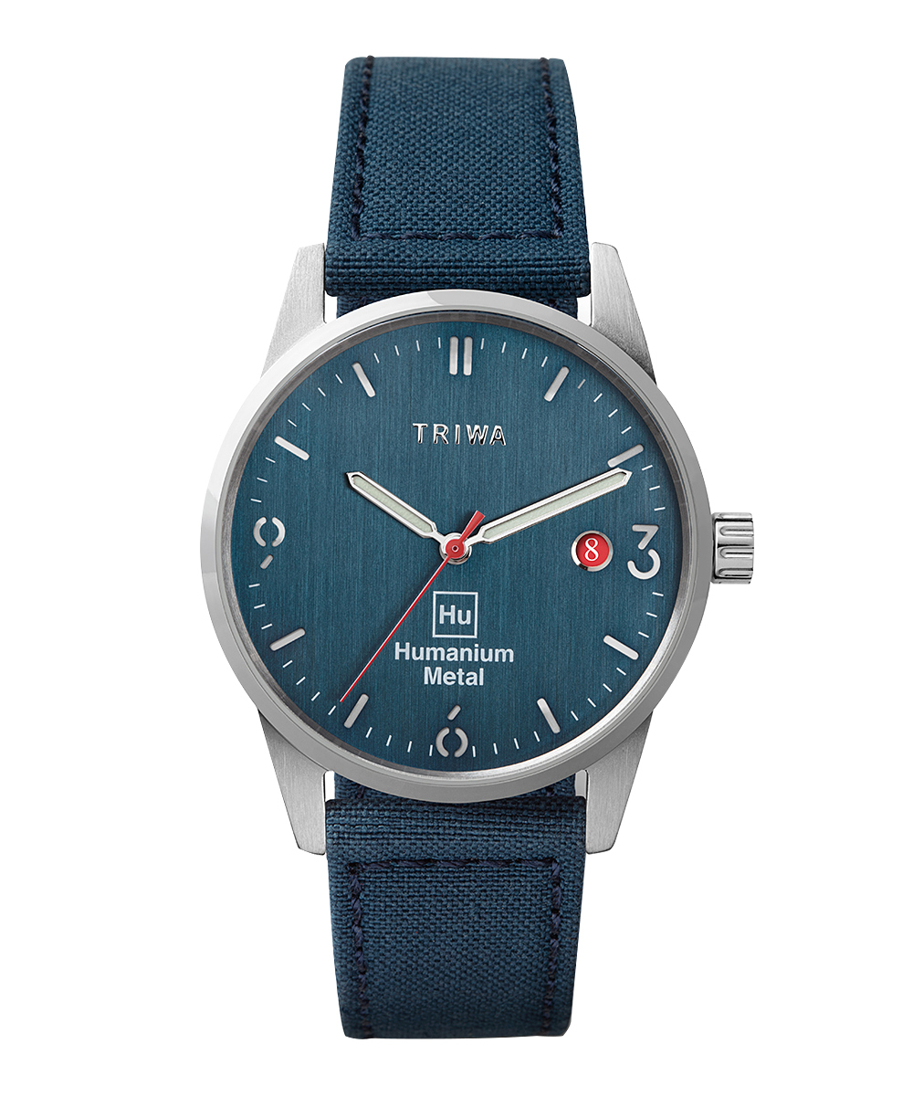 TRIWA HUMANIUM 39 ブルー×シルバー