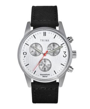 TRIWA HU39 CHRONO シルバー×ブラック HU39LCS-CL080112P