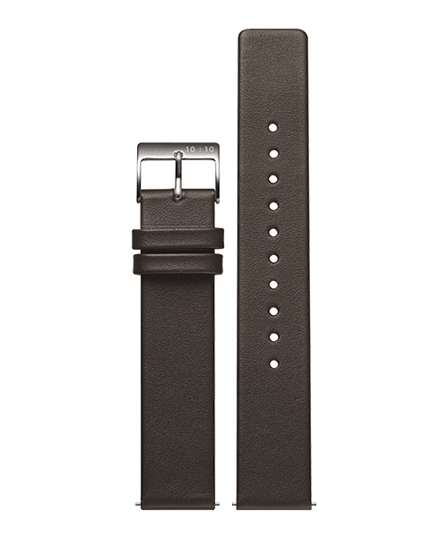 LEATHER STRAP BROWN L003