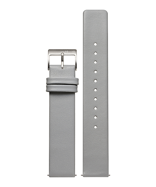 LEATHER STRAP GRAY L005