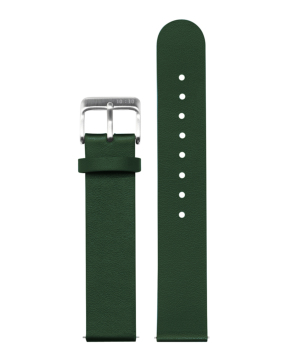 10:10 BY NENDO LEATHER STRAP HUNTER GREEN L007