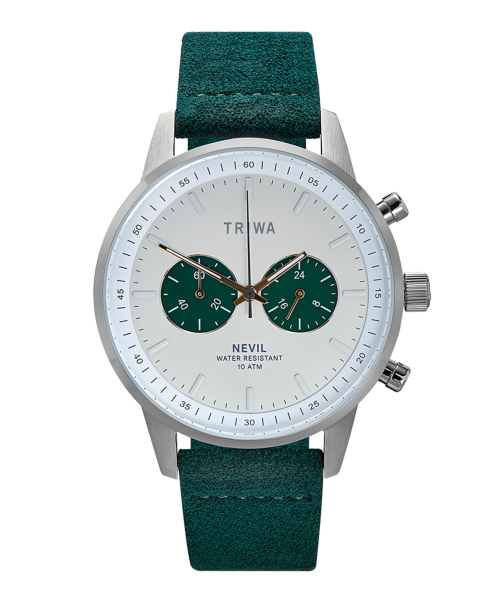 TRIWA EMERALD NEVIL NEST121-CL210912P ホワイト×グリーン