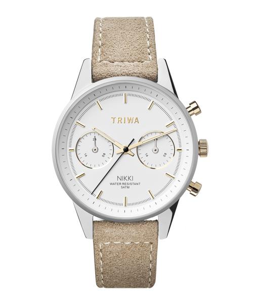 TRIWA GLEAM NIKKI NKST101-SW212612P ホワイト×シルバー×ベージュ
