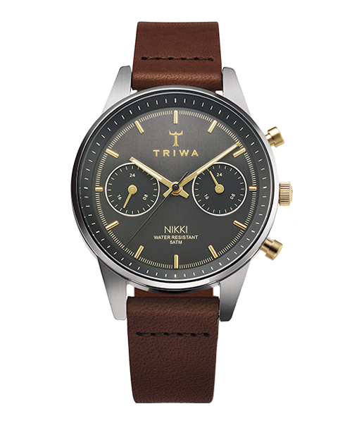 TRIWA SMOKY NIKKI DARK BROWN CLASSIC SUPER SLIM