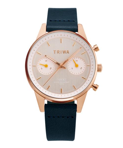 TRIWA JAPAN LIMITED NIKKI NKST107-SS110714P 日本限定 ローズゴールド×イエロー×ブラック