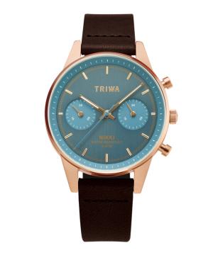 TRIWA ICE BLUE NIKKI 日本別注 アイスブルー×ローズゴールド×ブラウン