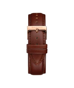 BERING Changes 14240 series Leather strap ブラウン×ローズゴールド
