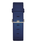JACOB JENSEN Strata 36mm Leather Strap Blue