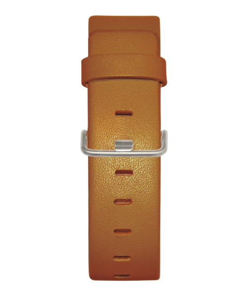 JACOB JENSEN Strata 36mm Leather Strap Tan