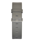 JACOB JENSEN Strata 36mm Leather Strap Grey